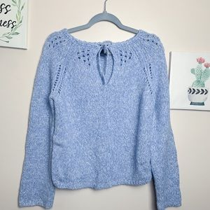 Express Pastel Blue Sweater